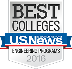 Rose-Hulman named 2016 Best College in Undergraduate Engineering