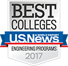Rose-Hulman named 2017 Best College in Undergraduate Engineering